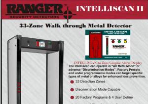 Ranger intelliscan 33 zone