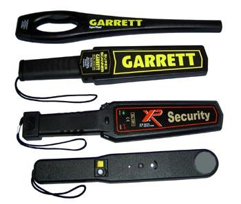 hand held security wands