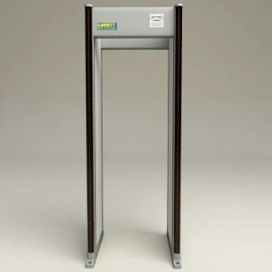 walk through metal detector advantage
